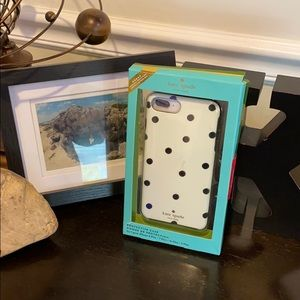 Kate Spade Polka Dot Case for iPhone 8,7,6 Plus